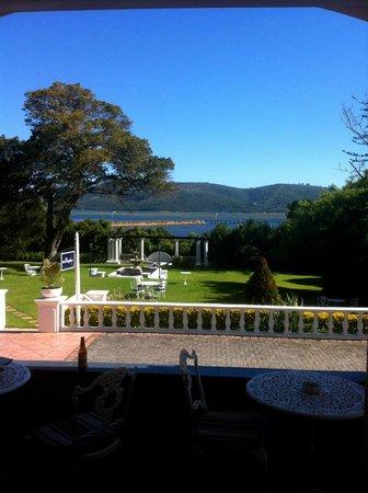 Parkes Manor: Blick von der Terrasse