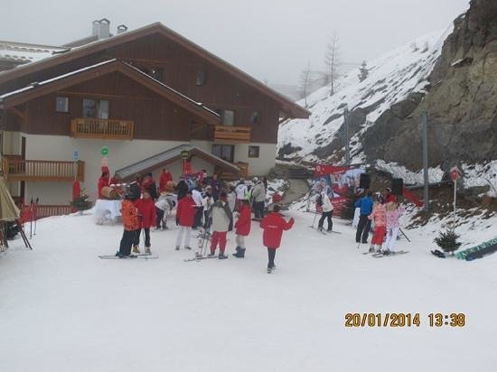 Club Med Peisey-Vallandry : Ready to leave for a days skiing!
