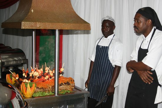 Bundu Country Lodge Restaurant: Bundu Carvery