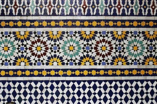 Riad Fes Aicha: Courtyard detail