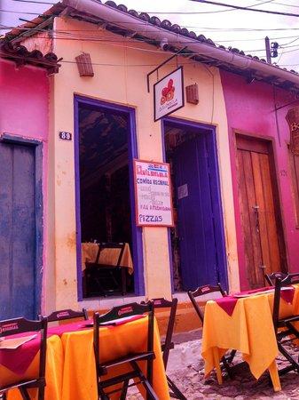 Restaurante Quilombola - culinaria regional.: fachada