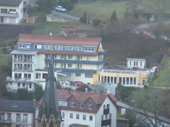 Hotel Rothfuss: Blick vom Sonnenberg