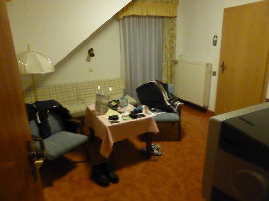 Hotel Rothfuss: Wohnraum Juniorsuite 62