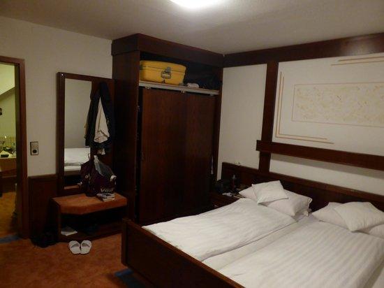 Hotel Rothfuss: Schlafzimmer Juniorsuite 62