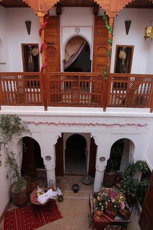 Riad Slawi внутренний дворик