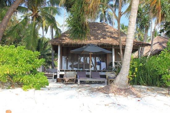 Haadtien Beach Resort : Bungalow sur plage