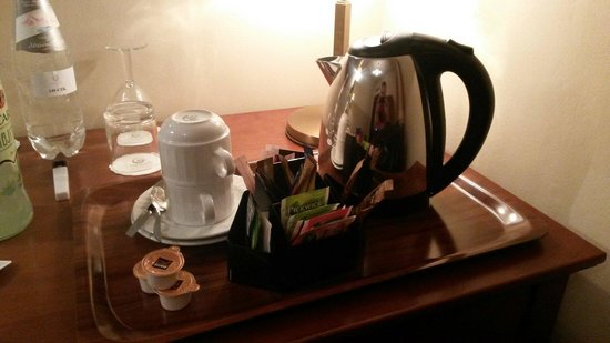 Hotel Majestic Plaza Prague: Coffe set
