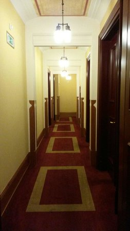 Hotel Majestic Plaza Prague: Hall