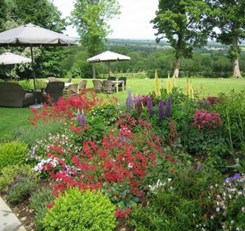 The Feathered Nest Country Inn: Beautiful views over the Evenlode Valley, Cotswolds AONB