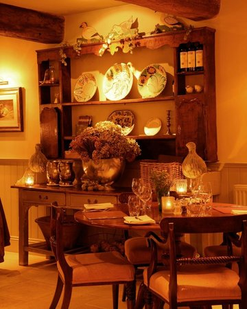 The Feathered Nest Country Inn: Cotswolds 3 AA Rosette Dining