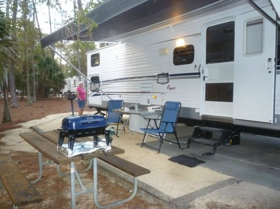 The Campsites at Disney's Fort Wilderness Resort : Great campground