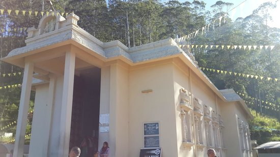 Ramboda, Srí Lanka: A view of the Bhakta Hanuman Temple