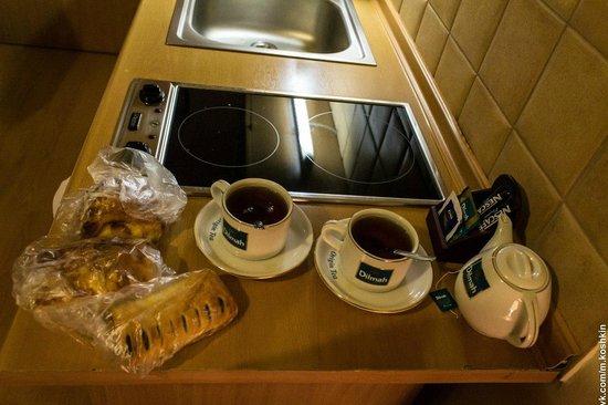 Maly Krakow Aparthotel: номер: плита