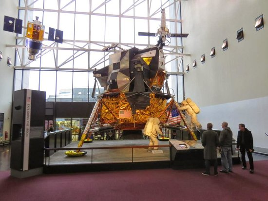 National Air and Space Museum : Capsula Lunar - utilizada em testes