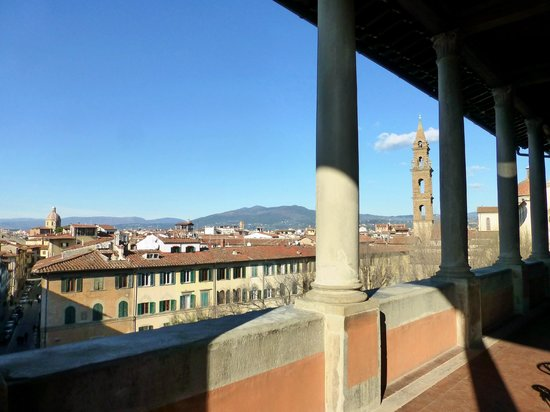 Hotel Palazzo Guadagni: View from terrace