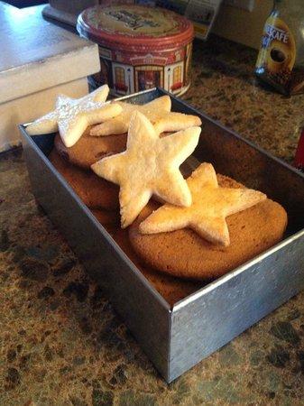Takhini River Lodge: homemade cookies are wonderful