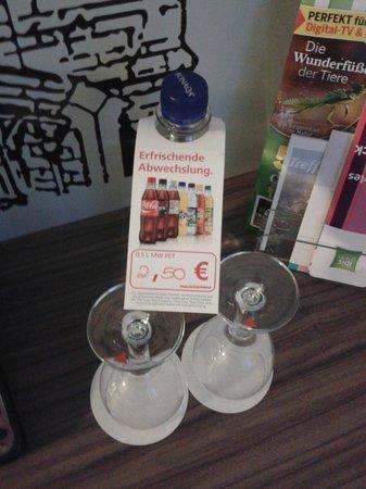 Ibis Styles Speyer: bottiglia acqua € 2,50 !!!!