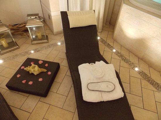 Victoria Hotel: mini spa