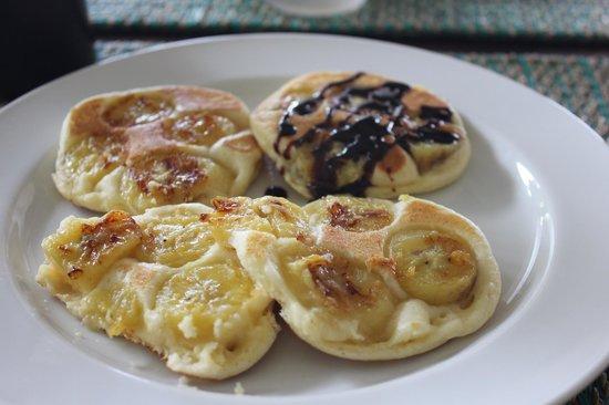Chintakiri Resort: Pancake bananes