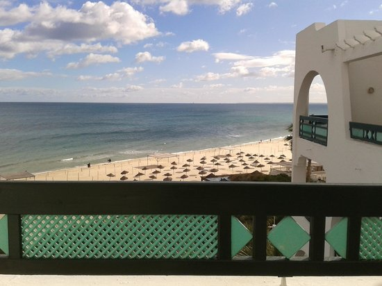 Hotel Marhaba Beach: wot a view,this was from our balacony.0