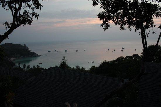 Chintakiri Resort: Vuedepuis terrase du bungalow