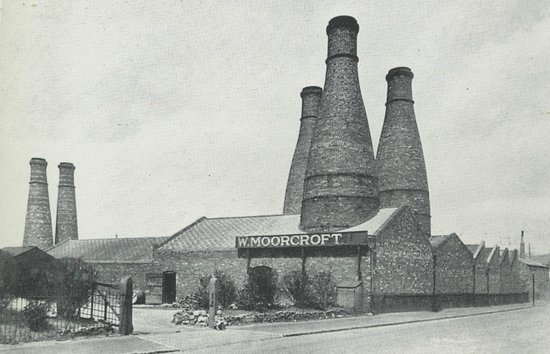 Moorcroft : Old Factory Photo