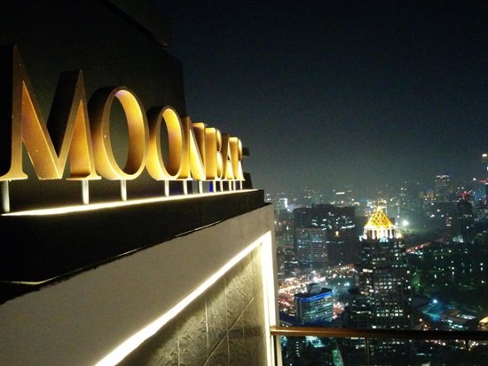 Banyan Tree Bangkok: Moon bar