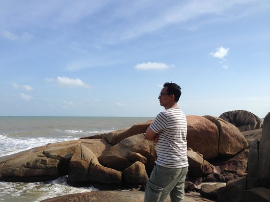 Teluk Chempedak : Looking at the beautiful nature