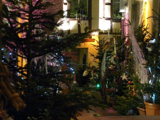 Romantik Hotel Beaucour: Christmas Decoration