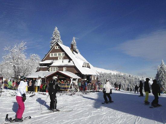 Hotel Grossbach : Apres ski bij de Feldberg