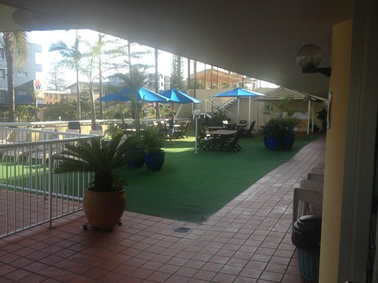 Port Pacific Resort: CourtYard