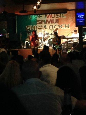 Samui Shamrock: Shamrock live music