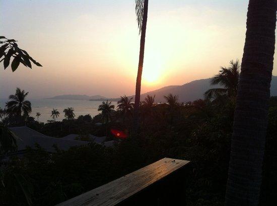 Banyan Tree Samui: Coucher de soleil