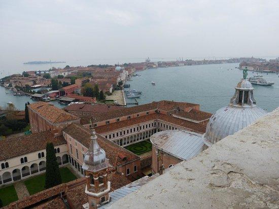 San Giorgio Maggiore: Vue du haut du cmapanile de San Giogio Maggiore