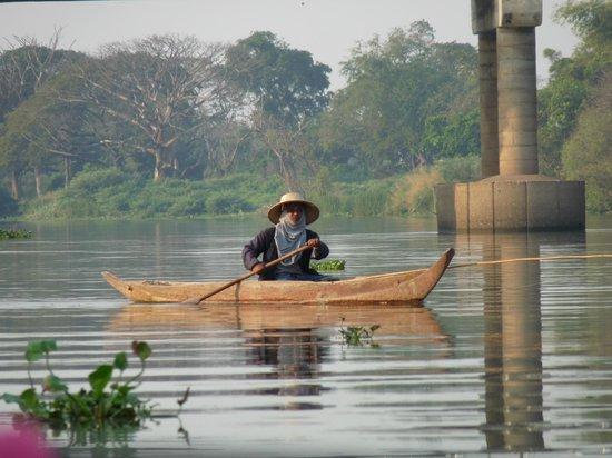 Ayutthaya Ruins : Balade sur la rivière
