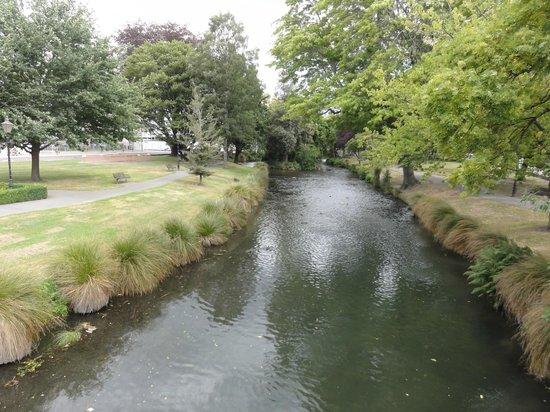 Avon River: クライストチャーチの中心部を流れています