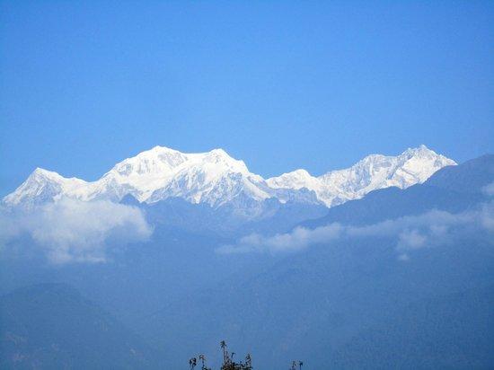 The Elgin Mount Pandim, Pelling: View from garden