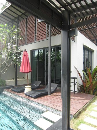 Ramada Khao Lak Resort: View of Villa from lounge area
