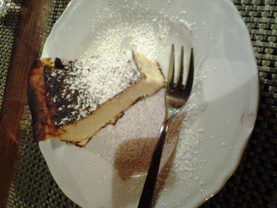 Ristorante La Parata: torta ricotta e limone