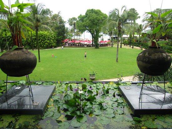 Ramada Khao Lak Resort : View from reception