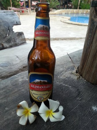 Paje by Night Hotel: A beer in a beautiful area