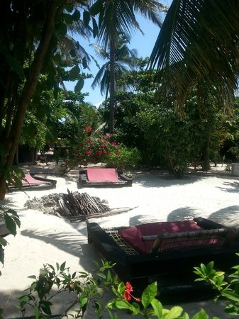 Paje by Night Hotel : Chilling out area