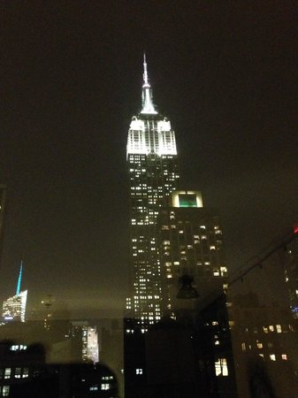 Ace Hotel New York: view from our room at night