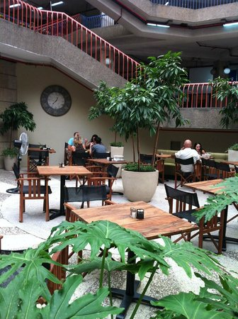 Cafe Forte: an Oasis in the Clal Building