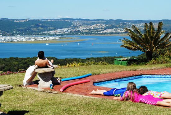 Brenton Hill Self Catering: The pool!