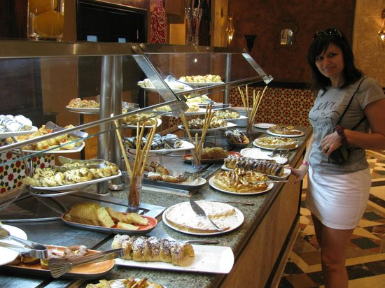 SENTIDO Mamlouk Palace Resort : ресторан