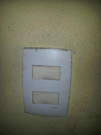 Pousada da Terra Paraty : Interruptor luz banheiro