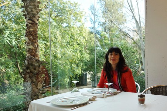 Fundacio Joan Miro Bar-Restaurant : Zauberhafte Antmosphere