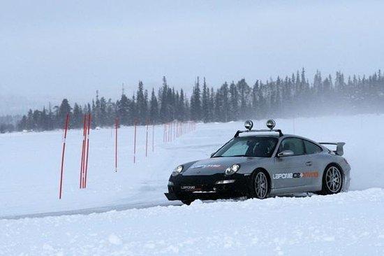 Laponie Ice Driving: GT3 en action