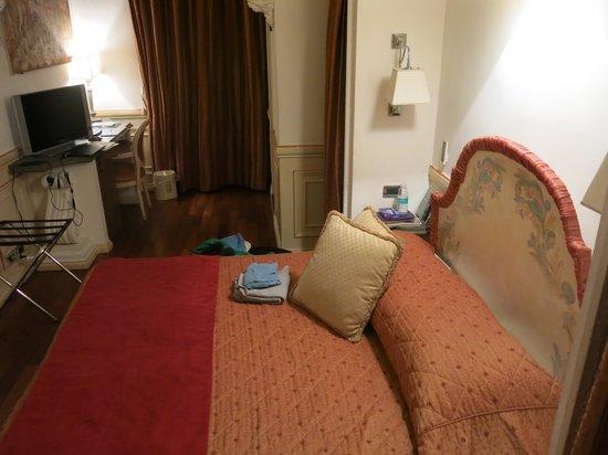 """Albergo del Sole Al Pantheon: View of my """"single room"""" from the door"""